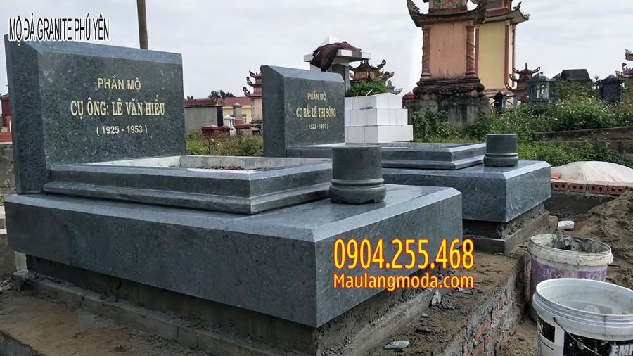 mộ đá granite phú yên