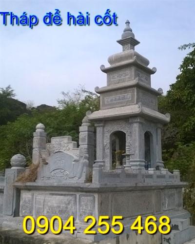 xây mộ tháp để hài cốt