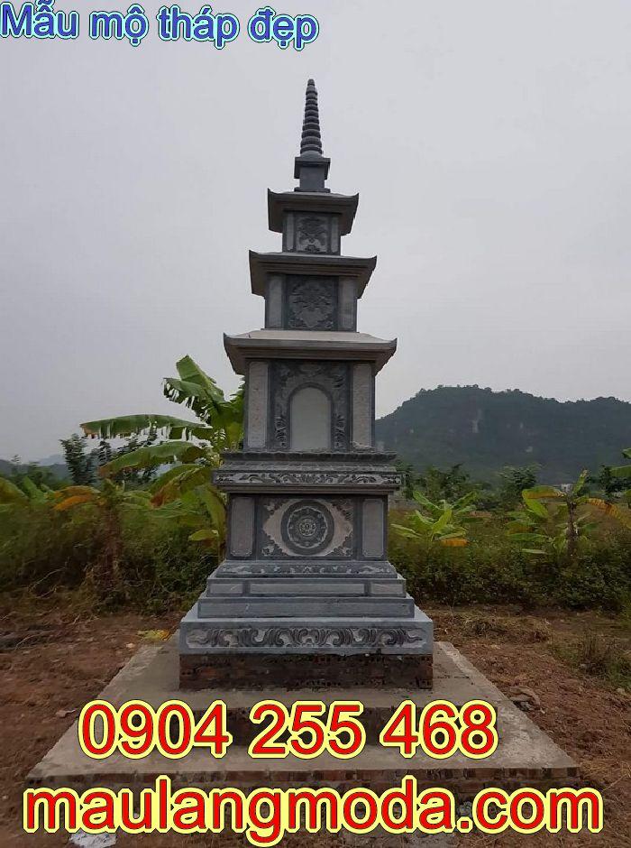Tổng hợp mẫu mộ tháp đá để hài cốt đẹp nhất 2020