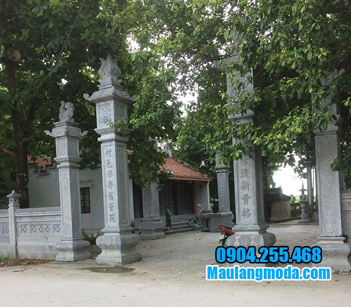 Cổng tam quan đình chùa