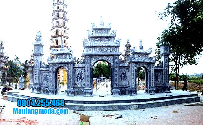 Mẫu cổng đá nhà thờ