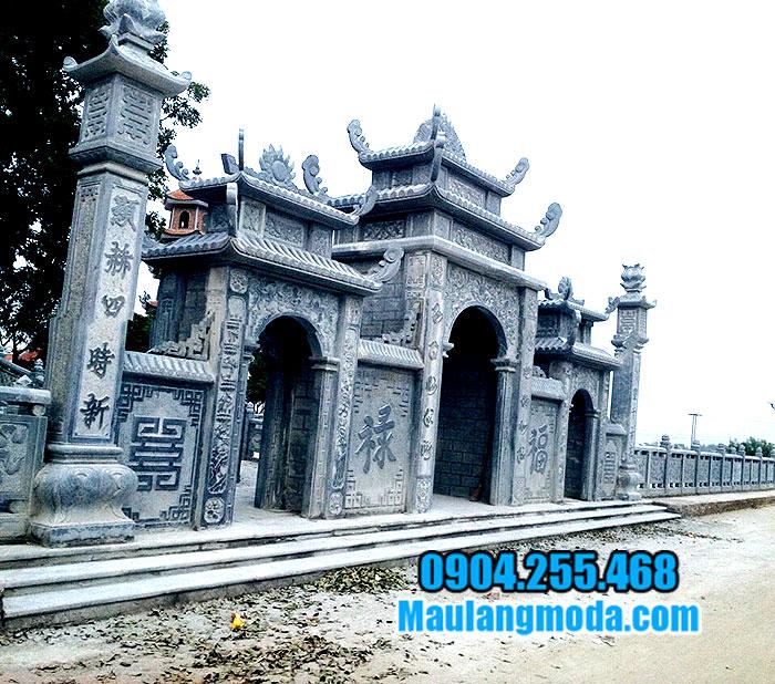 Mẫu cổng nhà thờ bằng đá