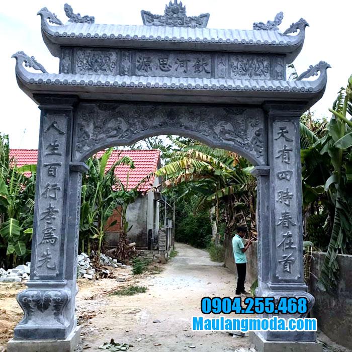 Mẫu cổng từ đường đẹp nhất