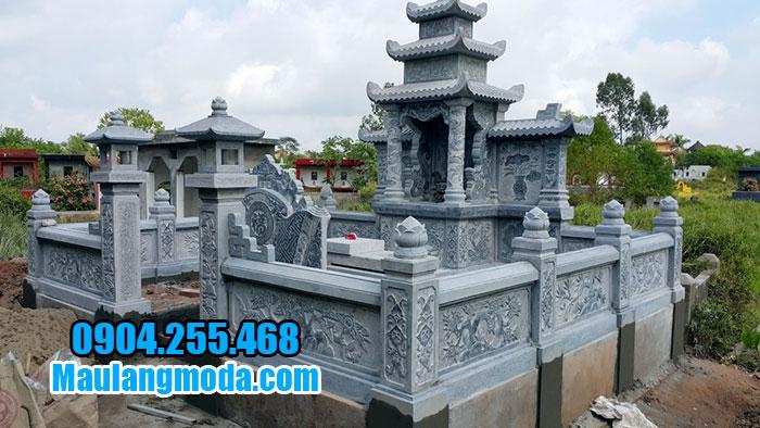 Giá thiết kế thi công khu lăng mộ đá đẹp ninh vân ninh bình