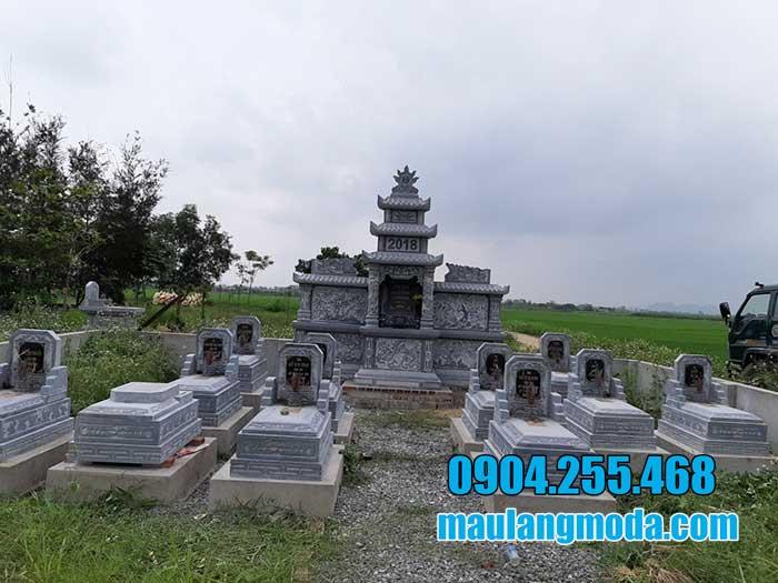 Mẫu lăng mộ bằng đá ninh bình đẹp