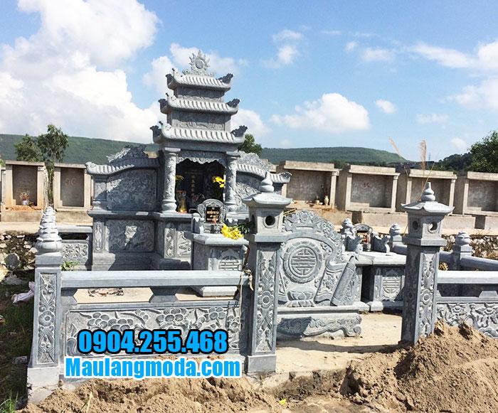 thiết kế khu lăng mộ đá ninh bình