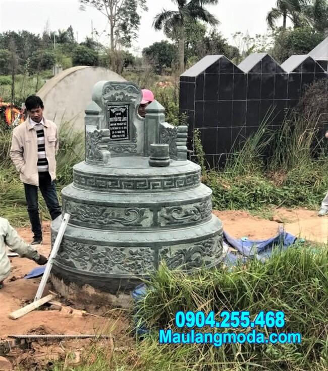 Ý nghĩa của mộ tròn đẹp bằng đá