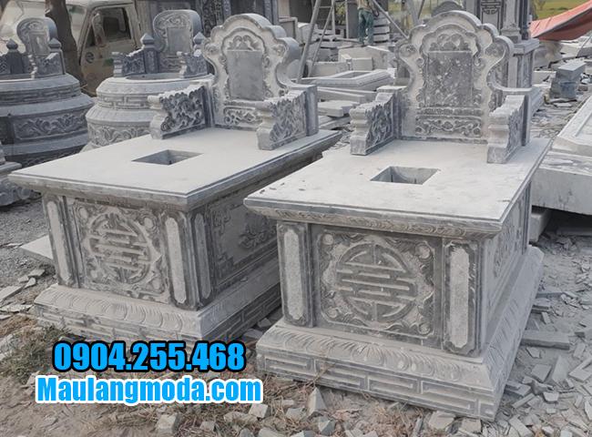 hình ảnh mộ bành bằng đá đẹp