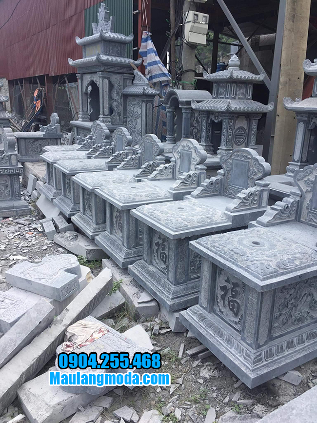 hình ảnh mộ bành bằng đá