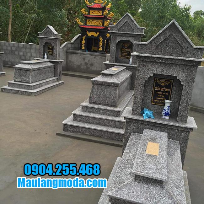 lăng mộ đá granite đẹp