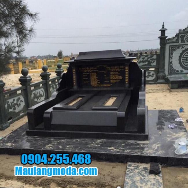 lăng mộ granite đẹp ninh bình