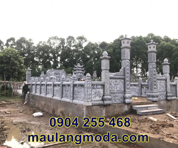 lắp đặt khu lăng mộ gia đình tại Bắc Giang 8