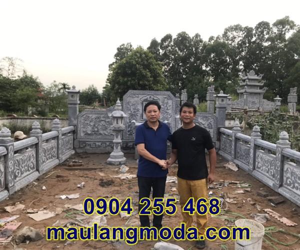 Lắp đặt khu lăng mộ gia tộc tại Bắc Giang 5