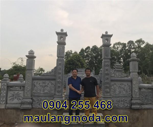 Lắp đặt khu mộ gia đình tại Bắc Giang 7