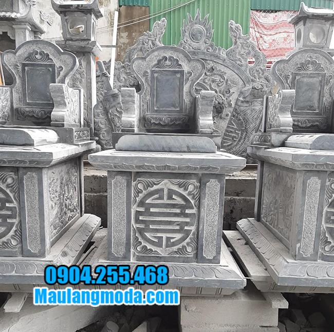 mẫu mộ bành bằng đá đẹp nhất
