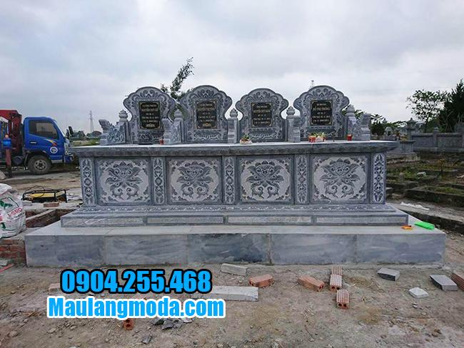 mộ bành bằng đá đẹp