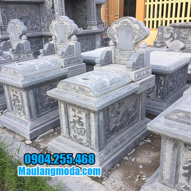 mộ bành bằng đá xanh đẹp nhất