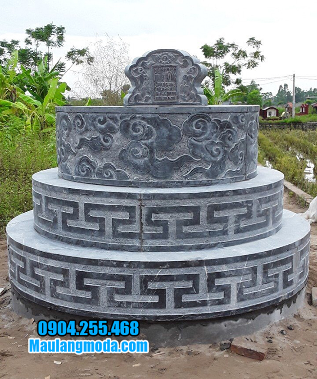 mộ tròn bằng đá đẹp