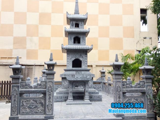 hình ảnh mẫu mộ tháp đá đẹp