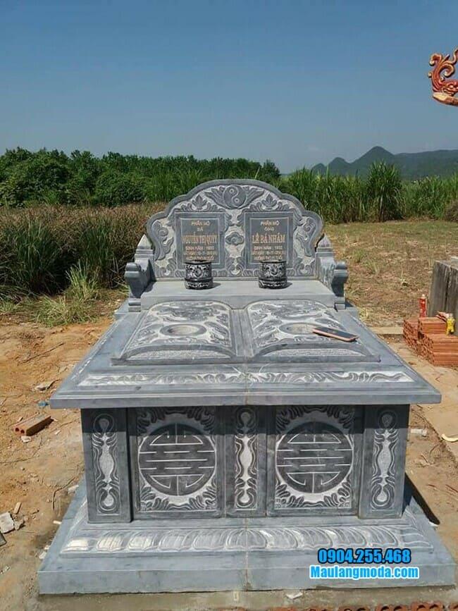 hình ảnh mộ đá đôi đẹp