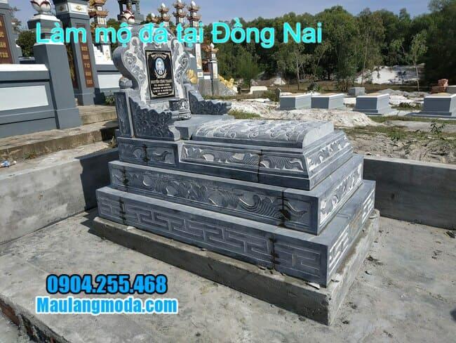 lắp đặt mộ tam sơn bằng đá tại đồng nai