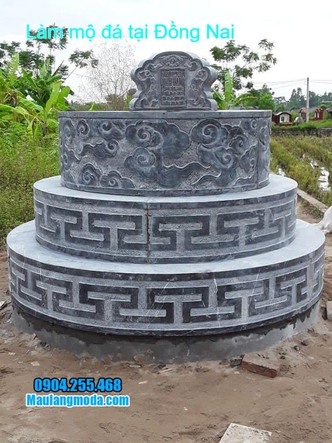 mẫu mộ đá xanh bán tại đồng nai