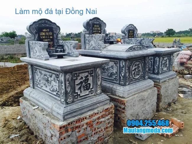 mẫu mộ bành đá đẹp tại đồng nai