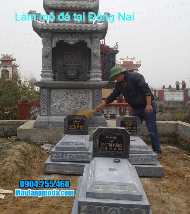 mẫu mộ tam cấp đẹp nhất tại đồng nai