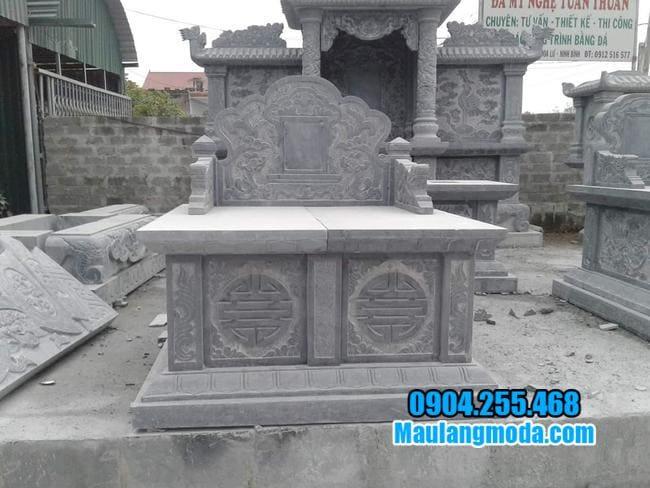 những mẫu mộ đá đôi đẹp
