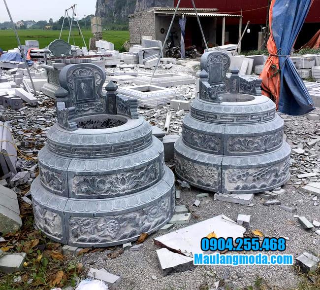 những mẫu mộ đá tròn đẹp
