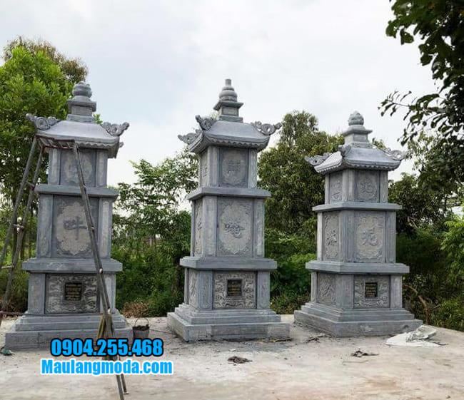 mộ tháp đá tại Khánh Hoà đẹp