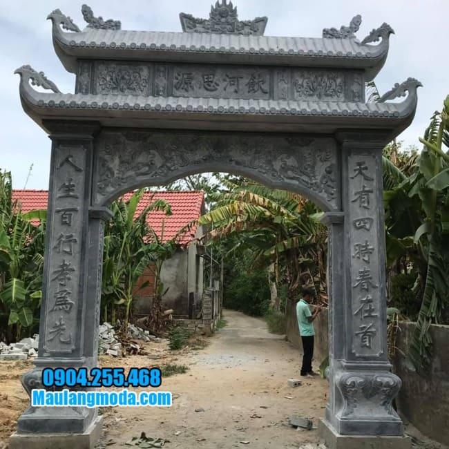 cổng nhà thờ họ bằng đá đẹp nhất