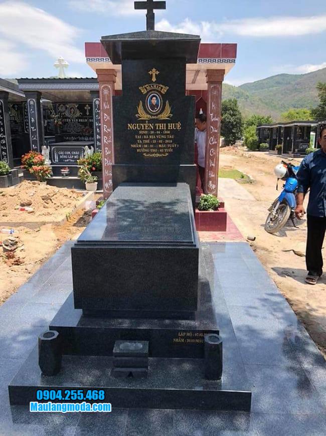 mẫu mộ cho người theo đạo đẹp