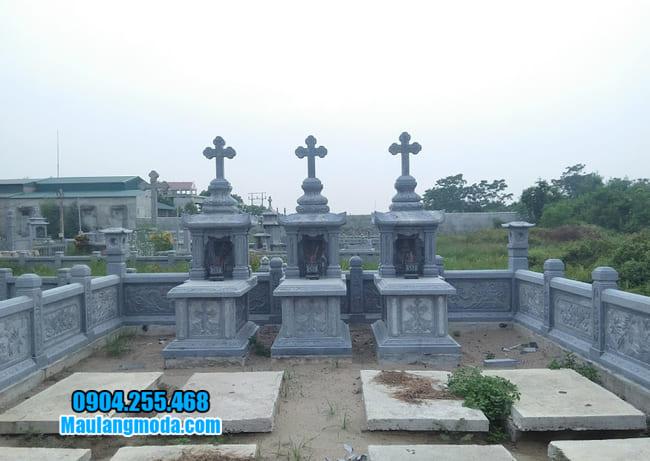 mẫu mộ cho người theo đạo