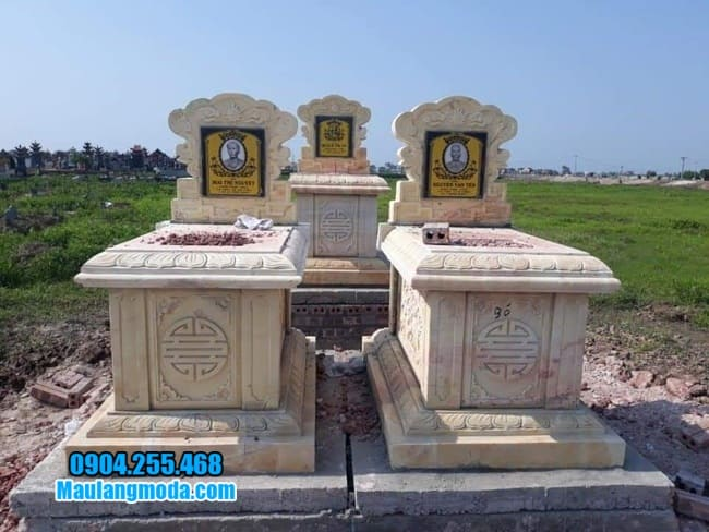 mộ đá đôi đẹp tại Tây Ninh