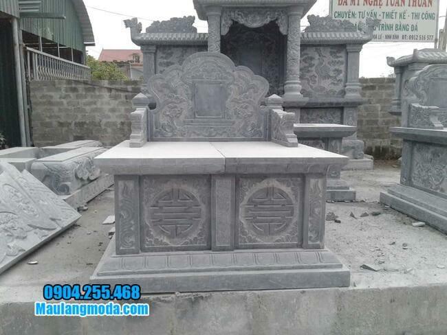 mộ đôi bằng đá tại Tây Ninh đẹp
