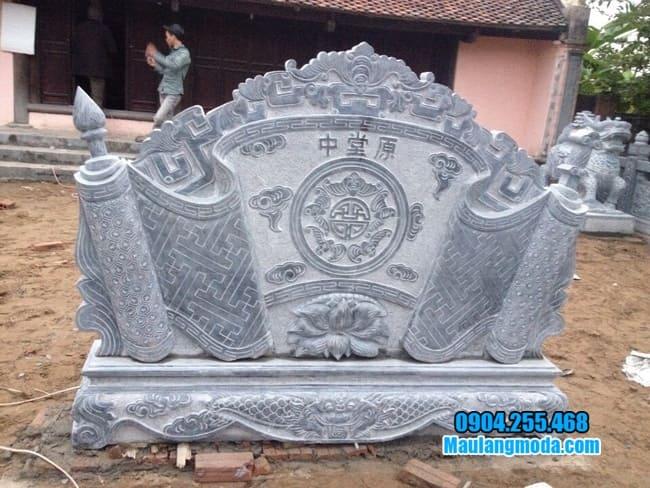 cuốn thư đá đẹp tại Hưng Yên