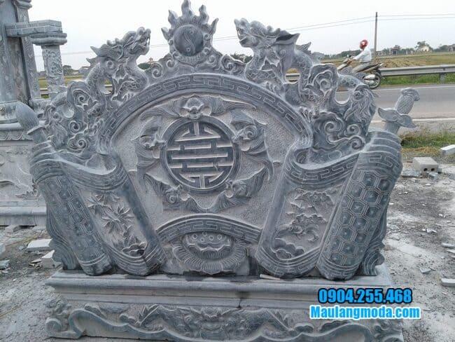 cuốn thư đá tại Nam Định