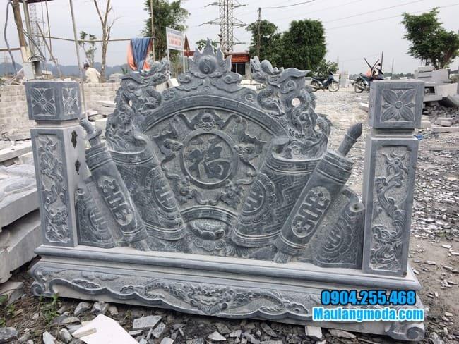 mẫu cuốn thư bằng đá đẹp giá rẻ tại Nam Định