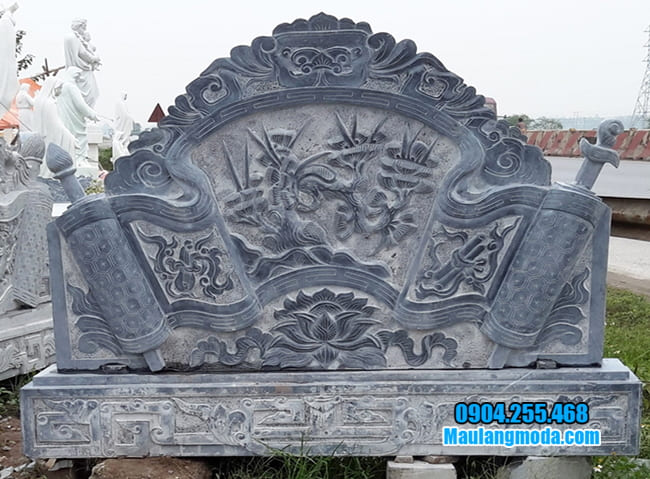 mẫu cuốn thư bằng đá tại Hưng Yên đẹp nhất