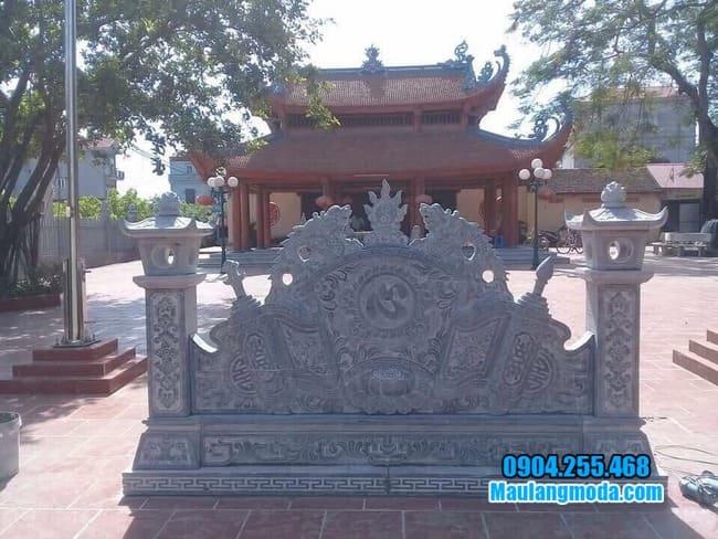 mẫu cuốn thư bằng đá tại Nam Định đẹp nhất