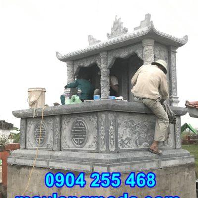 Địa chỉ chế tác mộ đôi tại Bắc Giang, Lắp đặt mẫu mộ đá đôi đẹp tại Bắc Giang, Lắp đặt mộ đôi bằng đá tại Bắc Giang, Lắp đặt mộ đôi bằng đá tại Hiệp Hòa Bắc Giang, Xây mộ đôi tại Bắc Giang,