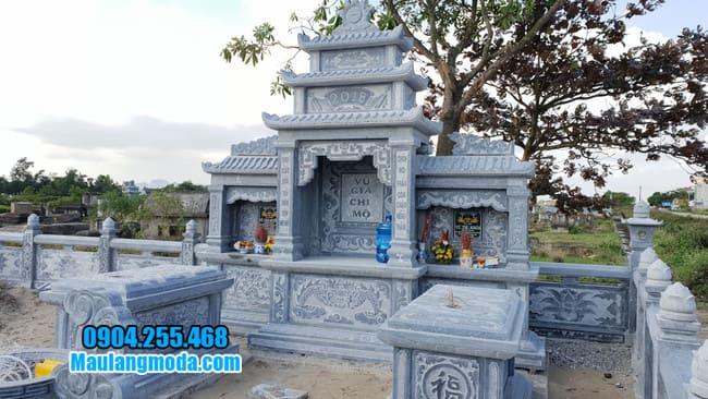 khu lăng mộ đá tại Bắc Giang đẹp nhất
