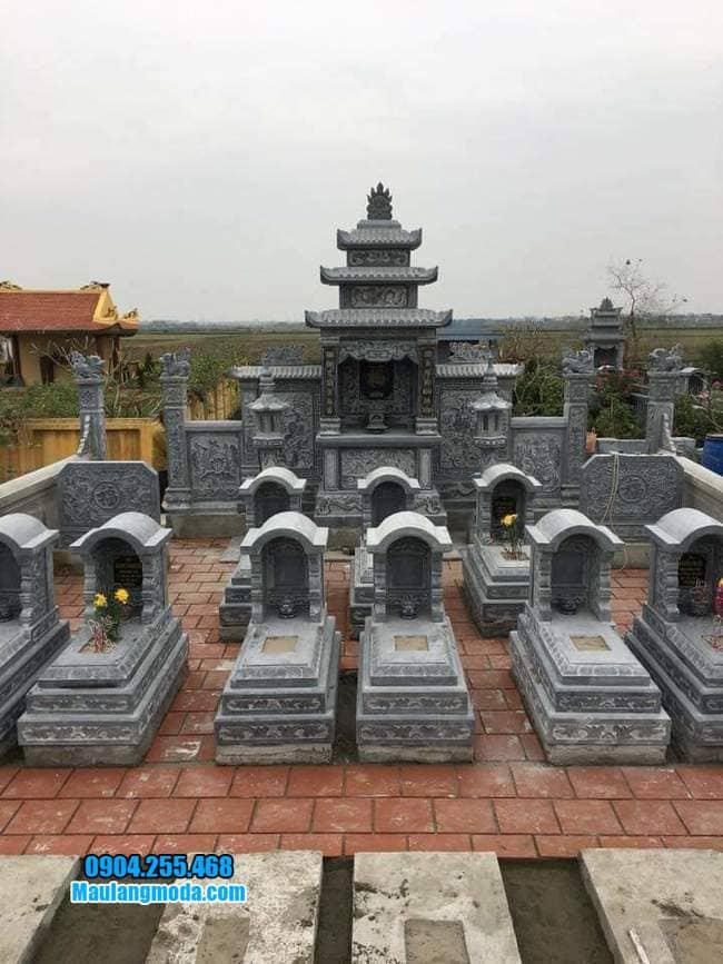 khu lăng mộ đá tại Bắc Giang đẹp