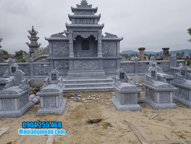khu lăng mộ tại Bắc Giang