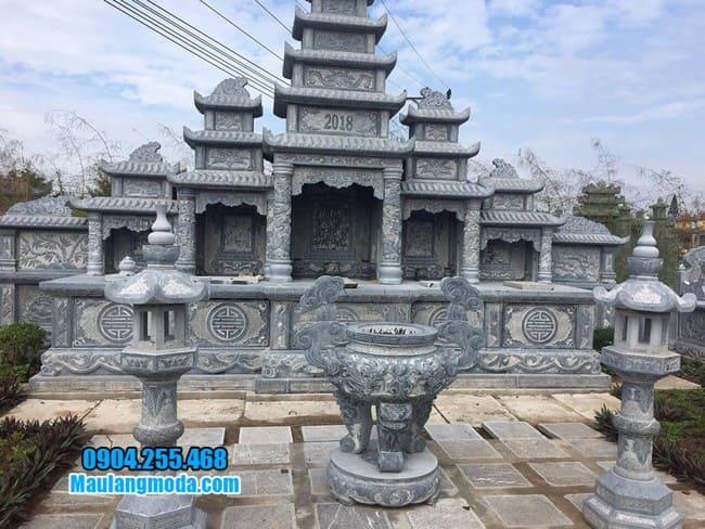 lăng mộ đá đẹp tại Bắc Giang