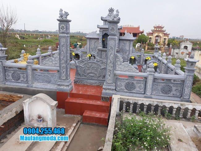 lăng mộ đẹp tại Bắc Giang