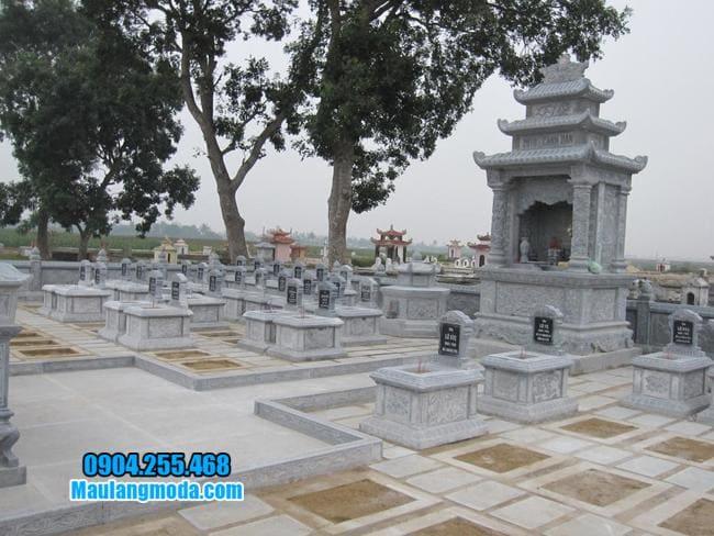 lăng mộ bằng đá tại Bắc Giang