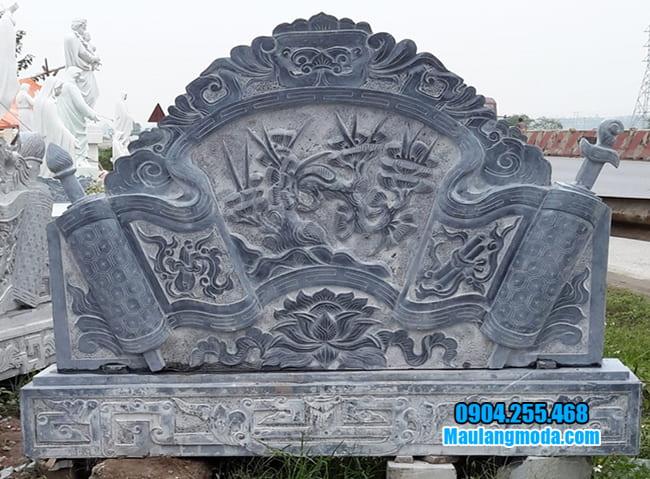 mẫu cuốn thư bằng đá đẹp giá rẻ tại Hà Nội