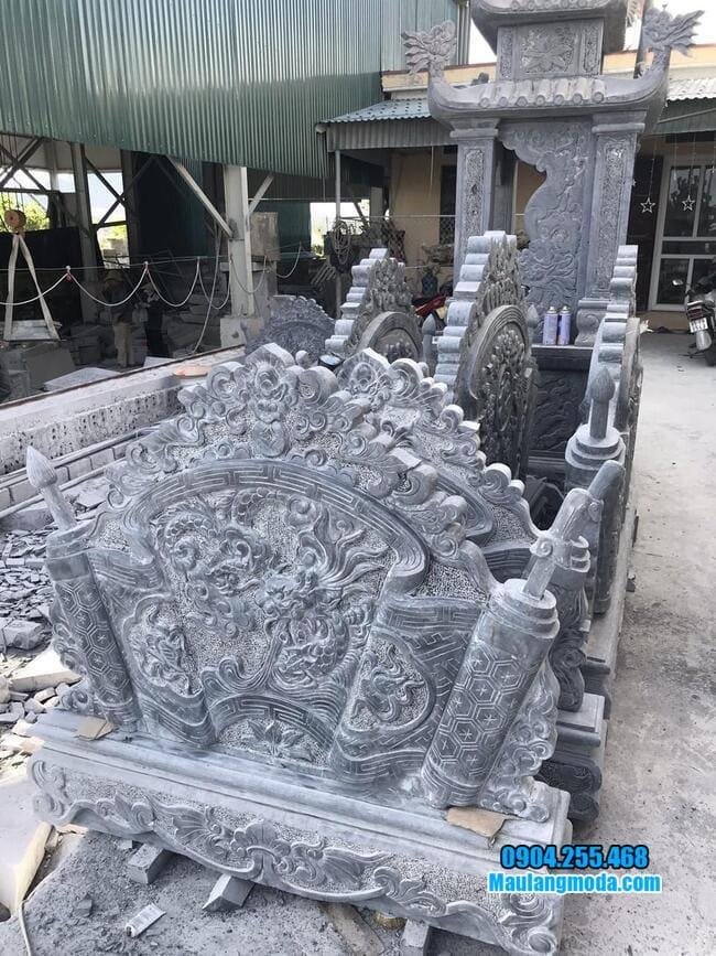 mẫu cuốn thư bằng đá tại Hà Nội đẹp nhất